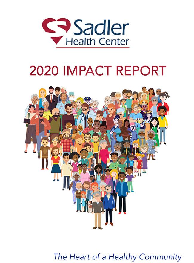 Sadler 2020 Impact Report - Cover