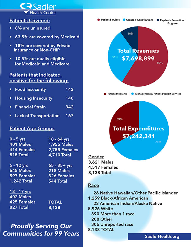 Sadler 2020 Impact Report - Page 3